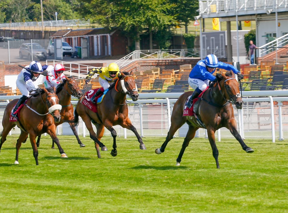 Brilliant Battaash Breaks His Own Record in Fourth King George Success