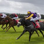 Sonaiyla, brings up a stakes double for Dark Angel in The Irish Stallion Farms EBF Sweet Mimosa Stakes at Cork