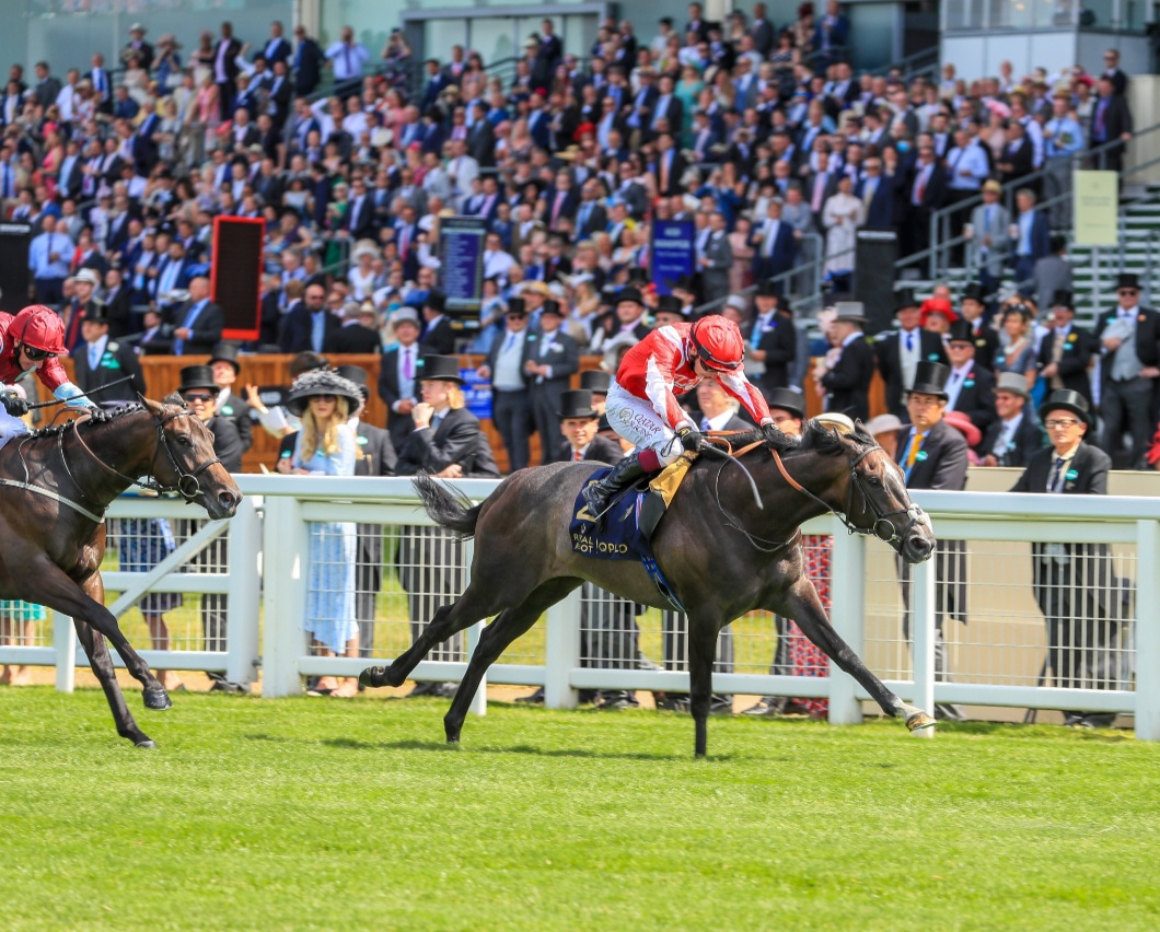 Unbeaten Berkshire Shadow Powers To Coventry Stakes Glory at Royal Ascot