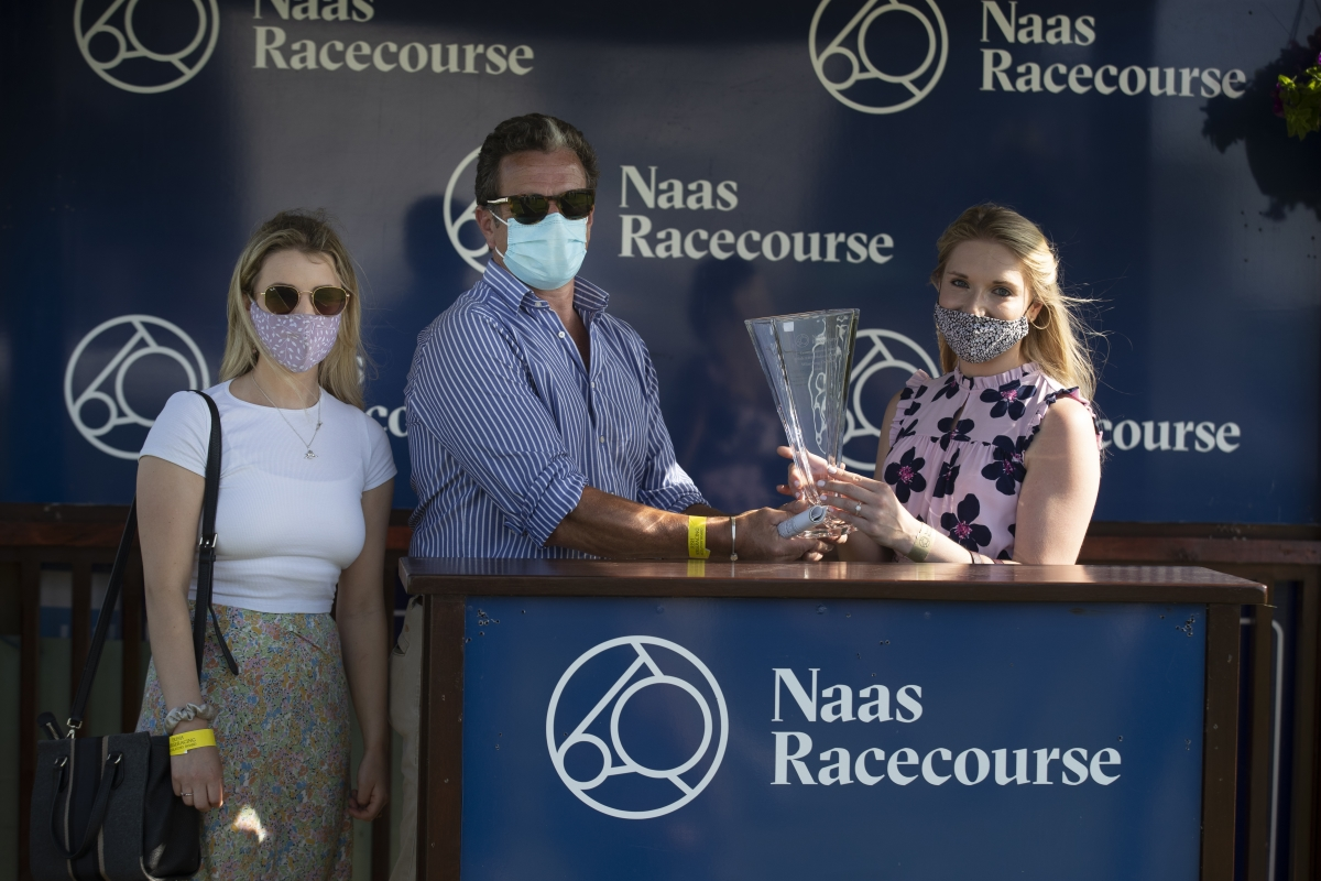 Wren's Breath Thunders Home In The Listed Yeomanstown Stud Stakes At Naas