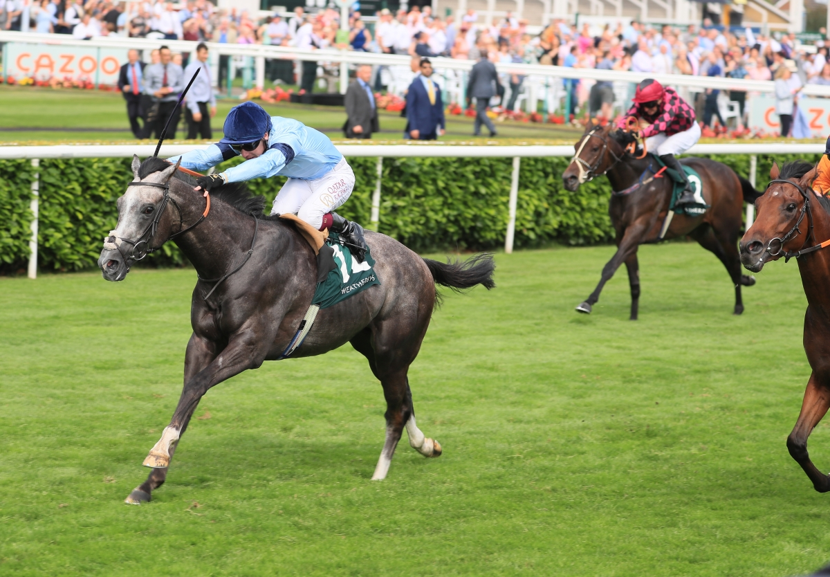 Harrow Claims £200,000 2-YO Stakes Sales Prize at Doncaster